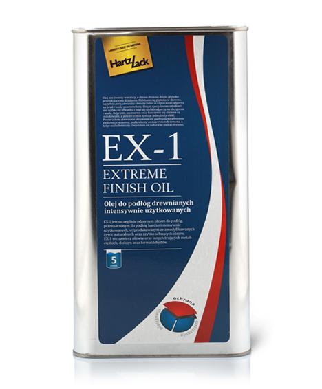 olej do parkietu, olej do podłogi drewnianej, olej do podłóg drewnianych i parkietów warstwowych, HartzLack EX1 olej do parkietu,